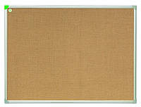 Доска джутовая 2x3 ECO в алюминиевой рамке 40 x 60 см, фото 1