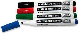 Набор маркеров для сухостираемых досок 2х3 4 цвета