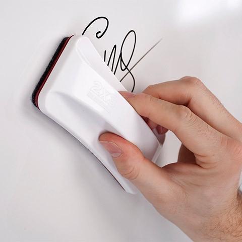 Губка для маркерных досок 2х3 с магнитом 15 x 6,2 см