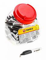 Минимаркер, черный цвет Topex 14A895