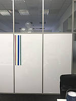 Маркерная Магнитная плёнка для стекла Силикон Melmark CK Без клея 120 х 100 см. Глянцевая белая, фото 1