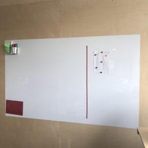 Маркерная магнитная плёнка на холодильник Melmark NM 0,3 мм. Без клея 120 х 100 см. Глянцевая белая