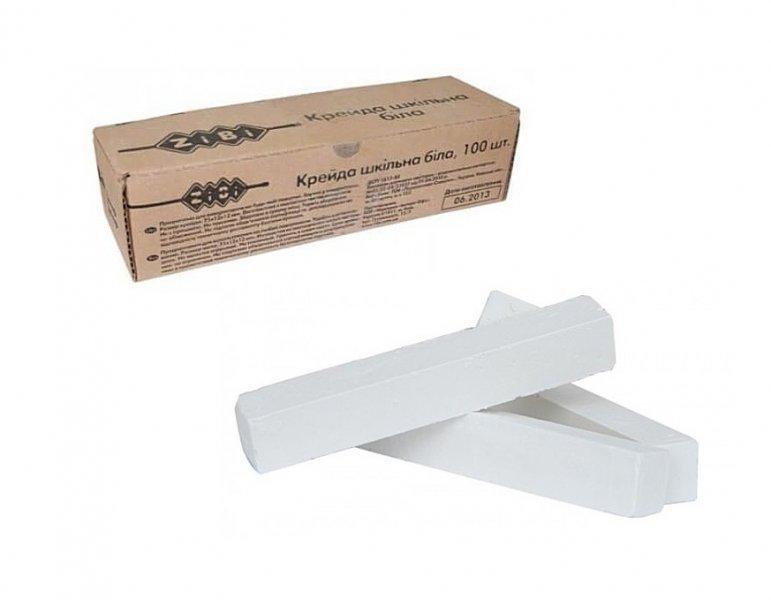 Мел Zibi KIDS Line белый 100 штук