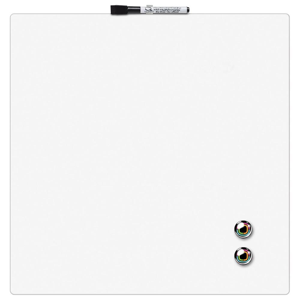Доска магнитно-маркерная Rexel Quartet Color 36 х 36 см белая