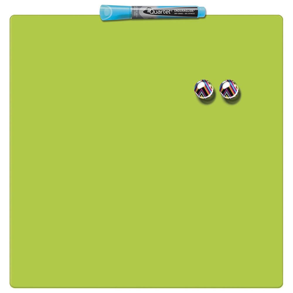 Доска магнитно-маркерная Rexel Quartet Color 36 х 36 см зелёная