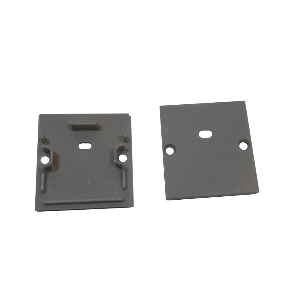 SL098-3 заглушка з діркою алюмінієвого профілю LP-SL098 для світлодіодних світильників 13021