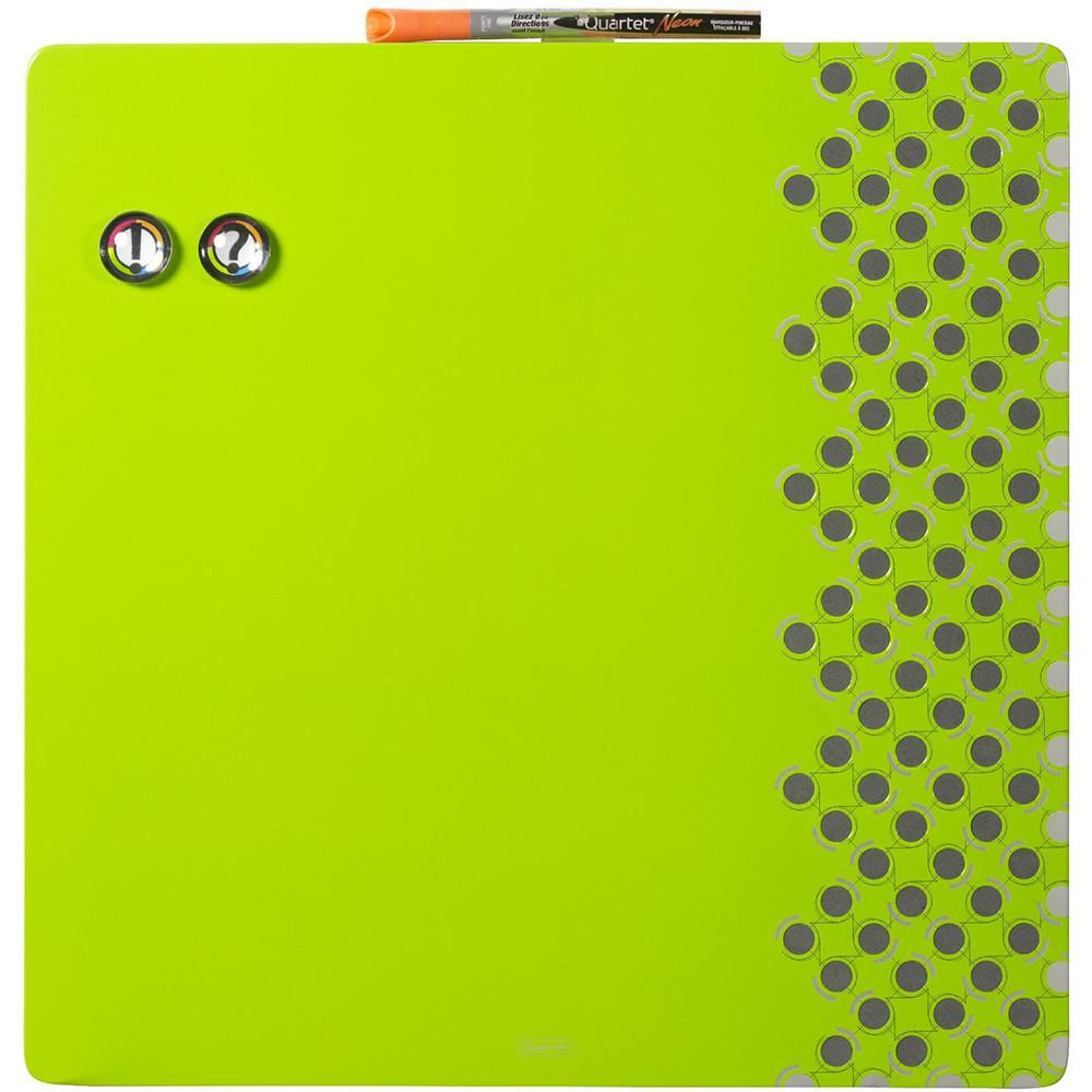 Доска магнитно-маркерная Rexel Quartet Combo 35.5 х 35.5 см зелёная