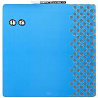 Доска магнитно-маркерная Rexel Quartet Combo 35.5 х 35.5 см синяя