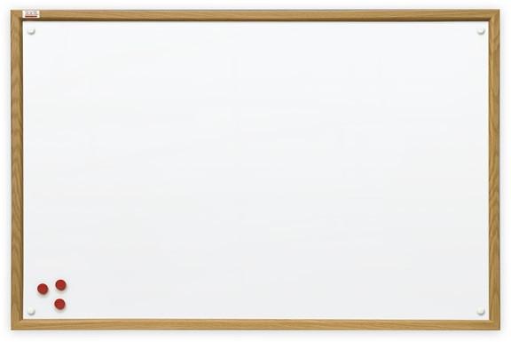 Доска магнитная маркерная 2x3 в деревянной рамке MDF 90 х 120 см