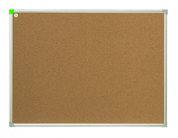 Доска пробковая 2x3 в алюминиевой рамке ECO 80 x 120 см