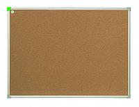 Доска пробковая 2x3 в алюминиевой рамке ECO 80 x 120 см, фото 1