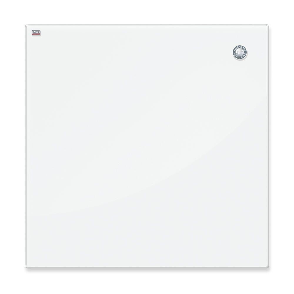Доска стеклянная магнитно-маркерная 2x3 120 х 200 см белая