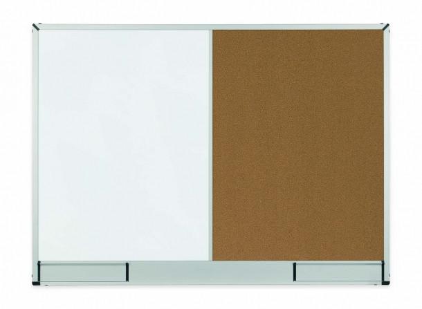 Доска Комби 2x3 StarBoard лакированная магнитно-маркерная + пробковая поверхность 90 x 60 см
