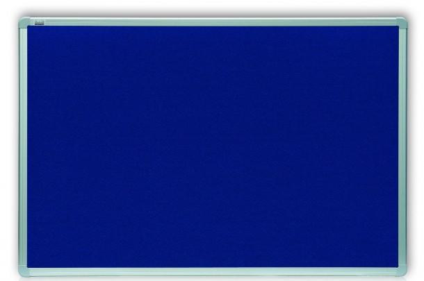 Доска текстильная 2x3 в алюминиевой рамке ALU23 100 x 150 см синяя