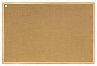 Доска джутовая 2x3 ECO в деревянной рамке 40 x 60 см, фото 1