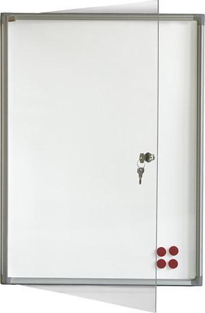 Доска-витрина магнитно-маркерная 2х3 из алюминиевого профиля 73 x 37 см