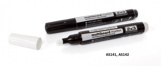 Маркер для стеклянных досок 2х3 Multiboard чёрный