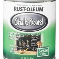 Краска грифельная Rust Oleum 8-10 м² зелёная