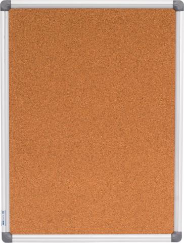 Доска пробковая Buromax алюминиевая рамка 45 x 60 см
