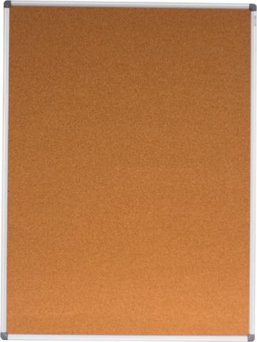 Доска пробковая Buromax алюминиевая рамка 90 x 120 см