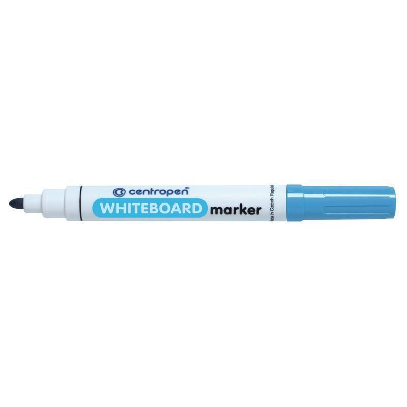 Маркер для сухостираемых досок Centropen 2,5 мм голубой
