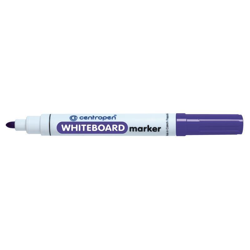 Маркер для сухостираемых досок Centropen 2,5 мм фиолетовый