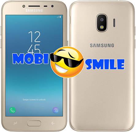 Смартфон Samsung Galaxy J2 (2018) SM-J250FZDDSEK Gold Оригинал Гарантия 12 месяцев, фото 2