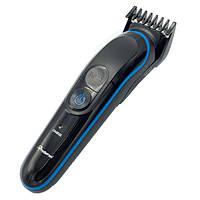 Аккумуляторный Триммер машинка для стрижки волос бритья бороды носа ушей 5 в 1 Gemei GM-563 ORIGINAL