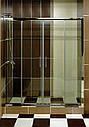 Закаленное стекло для душа матовое 6мм, размеры 1850*380мм, фото 4