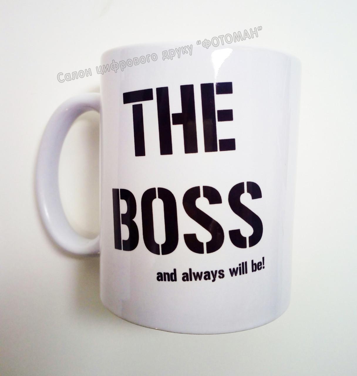 Чашка THE BOSS
