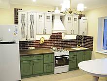 """Кухні з фасадами з масиву дуба """"Кантрі"""""""