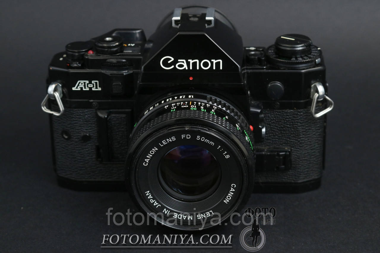 Canon A-1 kit Canon nFD 50mm f1.8