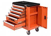 Шафа для інструментів на колесах STHOR 900 х 840 х 460 мм з 6 шухлядами і потайною коміркою