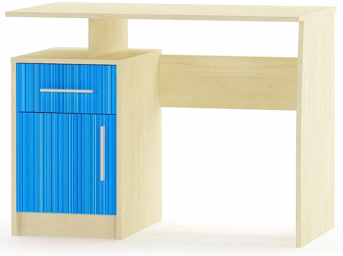 Сімба Стіл комп'ютерний МЕБЛІ СЕРВІС (100х55х75 см) Синій