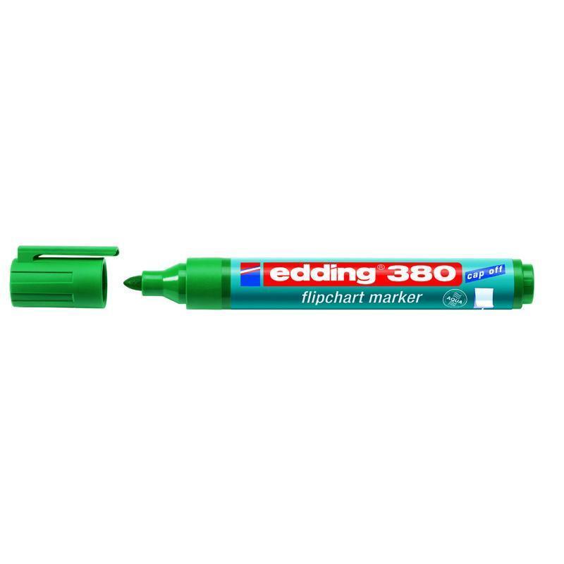 Маркер Edding Flipchart 1,5-3 мм круглый зелёный