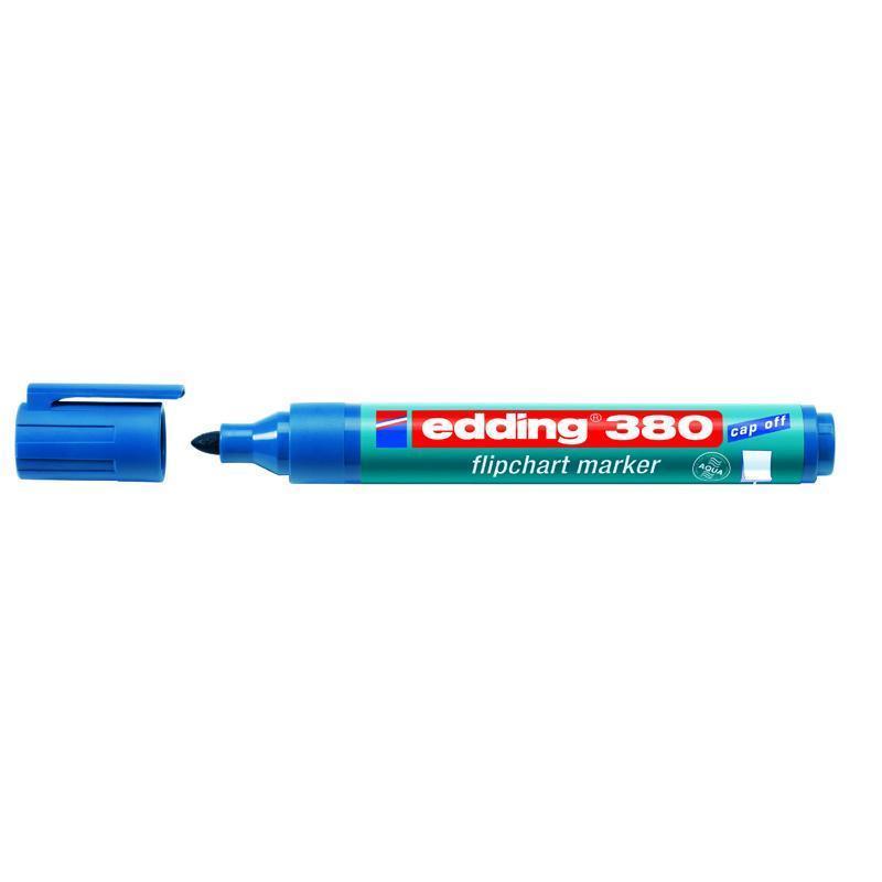 Маркер Edding Flipchart 1,5-3 мм круглый синий