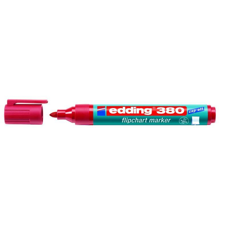 Маркер Edding Flipchart 1,5-3 мм круглый красный