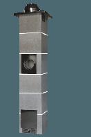 Димохідна система без вентиляції 8 метрів Jawar Uniwersal Plus