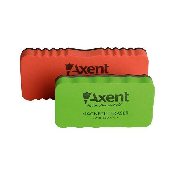 Губка магнитная для досок Axent ассорти