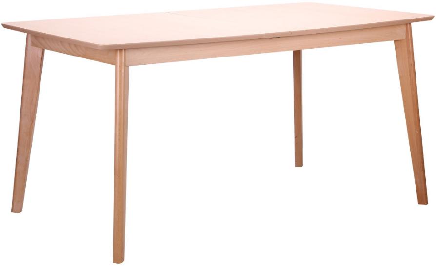 Стол обеденный раздвижной Чедер AMF бук беленый