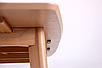 Стол обеденный раздвижной Чедер AMF бук беленый, фото 5