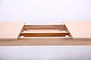 Стол обеденный раздвижной Чедер AMF бук беленый, фото 6