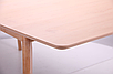 Стол обеденный раздвижной Чедер AMF бук беленый, фото 9