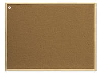 Доска пробковая 2x3 в деревянной рамке ECO 30 x 40 см, фото 1