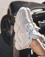 Женские кроссовки в стиле Adidas Yeezy 500 Blush