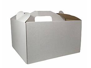 Картонная коробка для торта 3 штуки (350*350*350)