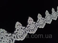Мереживо весільну 10,0 см біле
