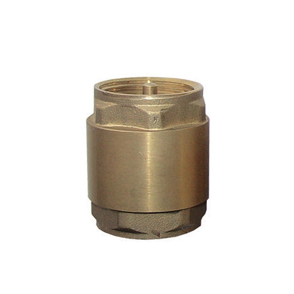"""Клапан обратный 1""""F×1""""F (латунь) AQUATICA (779644)"""