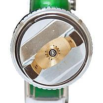 Краскораспылитель HVLP Ø1.7 с в/б (зеленый) SIGMA (6812111), фото 3