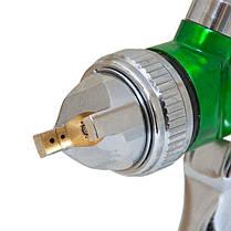 Краскораспылитель HVLP Ø1.3+1,7 с в/б (зеленый) Sigma (6812121), фото 2